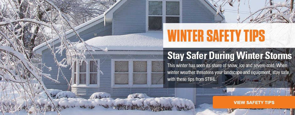 Winter Safety Tips